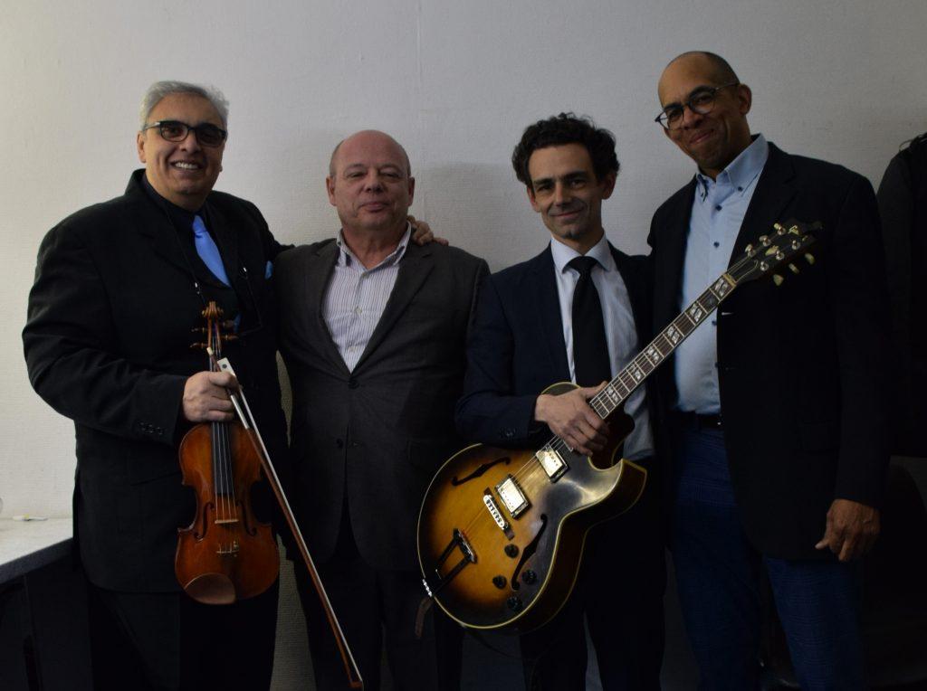 Le trio de Florin Niculescu avec Daryl Hall et Christophe Astolfi