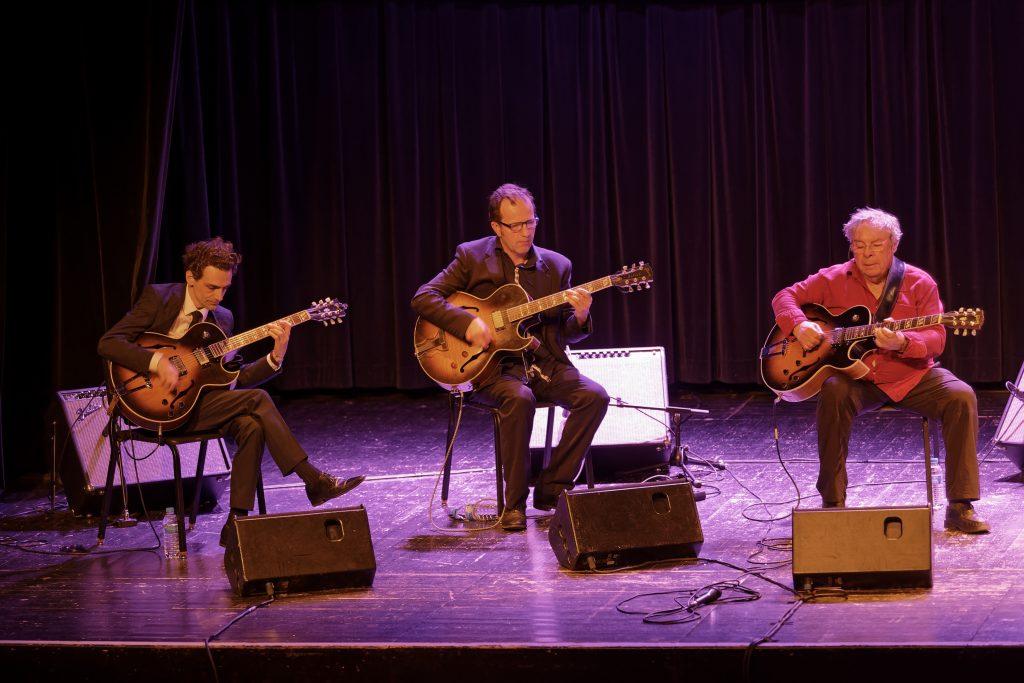 Trio Gitan, Christian Escoudé, Jean-Baptiste Laya, Christoph Astolfi.